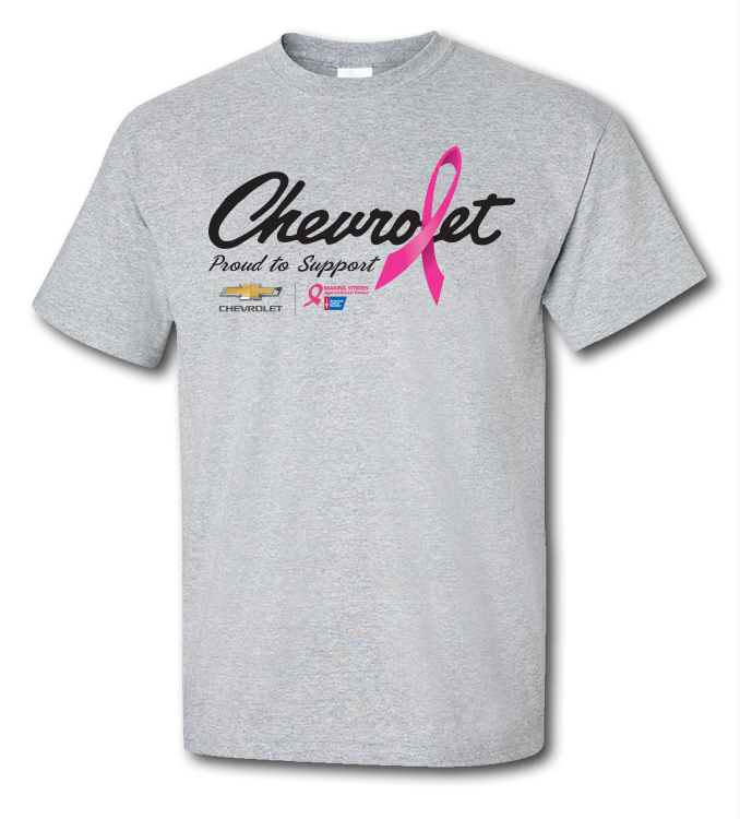 1c09165d Grey BCA Script Chevrolet T-Shirt: Cruisin Sports