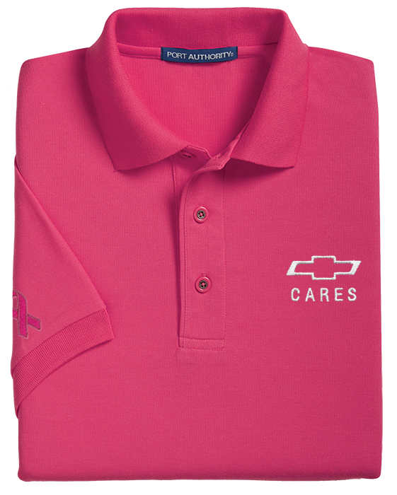 f9cee9f3 Men's Pink Breast Cancer Awareness Polo: Cruisin Sports