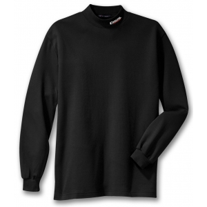 Dealer Personalized Black Mock Turtleneck