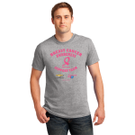 Breast Cancer Awareness Sports Grey T-Shirt