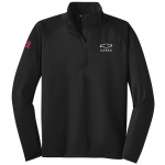 Men's Black Half Zip Pullover