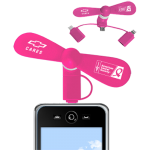 Breast Cancer Awareness Smart Phone Fan