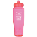 Pink Breast Cancer Awareness Water Bottle
