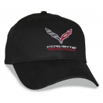 Black Big Head Cap® with Corvette Racing