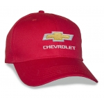 Red Big Head Cap® with Gold Bowtie Chevrolet