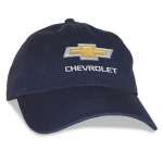 Navy Big Head Cap® with Gold Bowtie Chevrolet