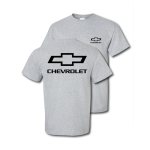 Give me a tee special! Heather Grey Open Chevrolet Bowtie T-Shirt