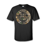Black Realtree Genuine Parts Heritage Bowtie T-Shirt