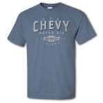 Chevy Motor City Heritage Heather Indigo T-Shirt