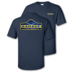 Chevrolet Garage Full Service Navy T-shirt