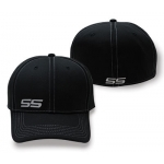 Black Flex Fit SS Hat