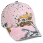 Ladies All purpose Pink Camo with Gold Bowtie