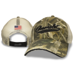 Camo Mesh Hat Script Chevy Velcro Closure