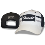 Black White Grey Hat Chevrolet Patch Velcro Closure