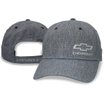 Grey Breezer Hat Open Bowtie Chevrolet Velcro Closure