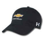 Under Armour Black Chevrolet Chino Cap Buckle