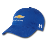 Under Armour Royal Chevrolet Blue Cap Buckle