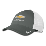 NIKE Mesh Cap w/ Gold Bowtie Chevrolet Anthracite/ White. M/L