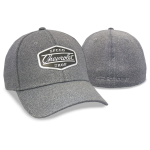 Dk Heather Grey Cap w/ Chrome Chevrolet Speed Shop