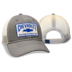 Charcoal grey cap stone mesh Chevrolet est 1911 patch