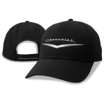 Black performance cap metallic heritage Chevrolet logo