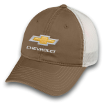 Brown Chevrolet Cap w/ White Mesh