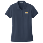 Ladies River Blue Navy Core Classic Pique Polo