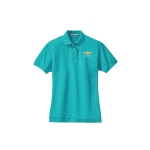 Ladies Chevy Turquoise Polo