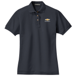 Ladies Chevy Classic Navy Polo