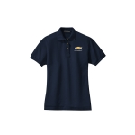 Ladies Chevy Navy Knit Polo