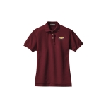 Ladies Chevy Burgundy Polo
