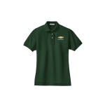 Ladies Chevy Dark Green Polo