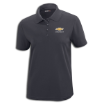 Ladies Gold Bowtie Carbon Performance Pique Polo