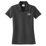 Ladies NIKE Golf Dri-Fit Micro Pique Polo Athracite