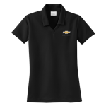 Ladies NIKE Golf Dri-Fit Micro Pique Polo Black