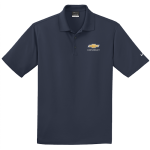 NIKE Golf Dri-Fit Micro Pique Polo Navy