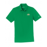 NIKE Dri-Fit Pine Green Polo w/GBT Chevrolet