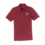 NIKE Dri-Fit Team Red Polo w/GBT Chevrolet