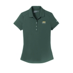 Ladies NIKE Dri-Fit Anthracite Polo w/GBT