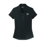 Ladies NIKE Dri-Fit Black Polo w/GBT Chevrolet