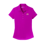 Ladies NIKE Dri-Fit Sport Fuchsia Polo w/GBT Chevrolet