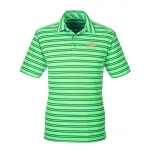 Under Armour Stripe Polo Laser Green w/GBT Chevrolet