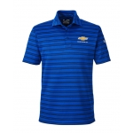Under Armour Stripe Polo Royal Blue w/GBT Chevrolet