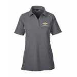 Ladies Under Armour Perf Polo Graphite w/GBT Chevrolet