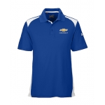 Under Armour Colorblock Polo w/GBT Chev Royal/White