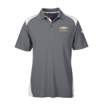 Under Armour Colorblock Polo w/GBT Chev Graphite/White