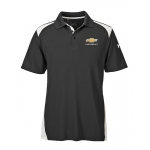 Under Armour Colorblock Polo w/GBT Chev Black/White