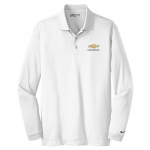 Ladies NIKE Chevrolet Long Sleeve White Polo