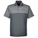 Under Armour Grey Steel Playoff Block Polo