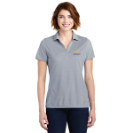 Ladies Navy Poly Oxford Pique Chevrolet Polo